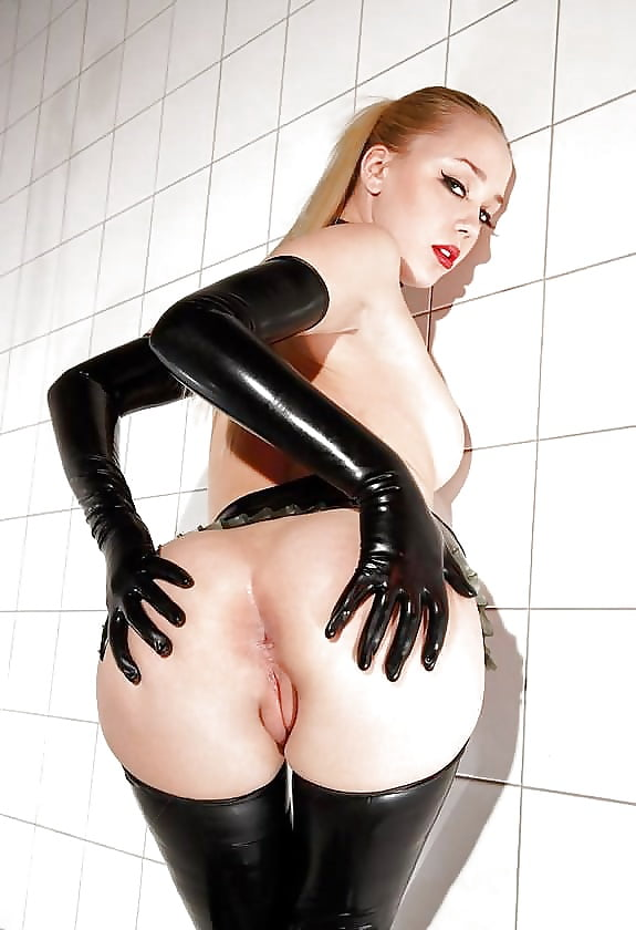 Latex ass pics