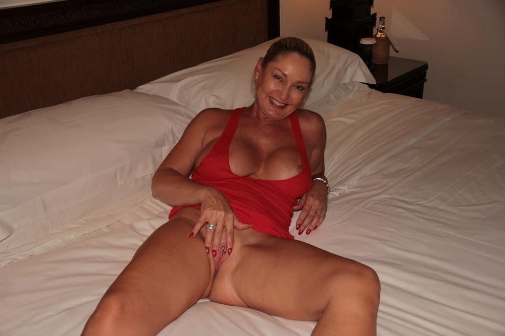 Sexy Mature Blonde - 47 Pics