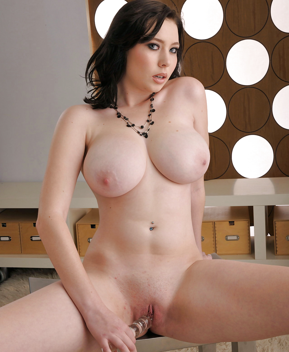 Softcore porn and busty woman