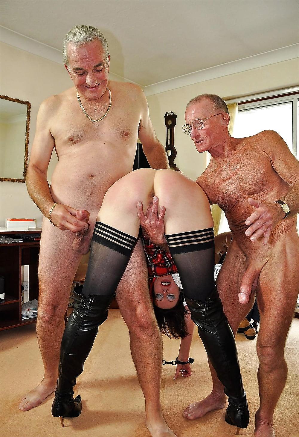 Как работает шлюха со стариком