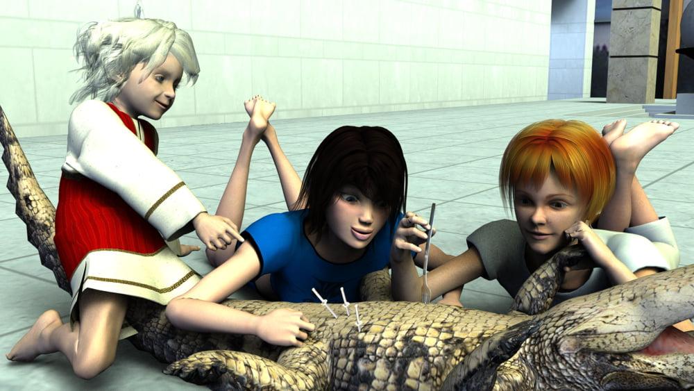 Game teen video