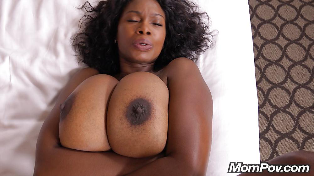 Ebony mature anal porn