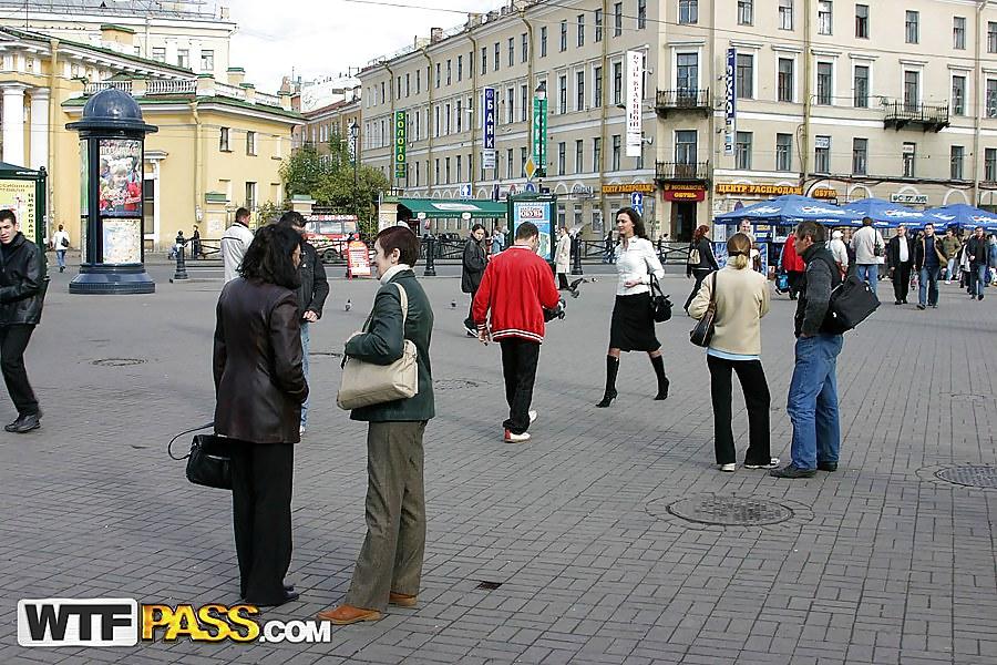 Nude porn in public