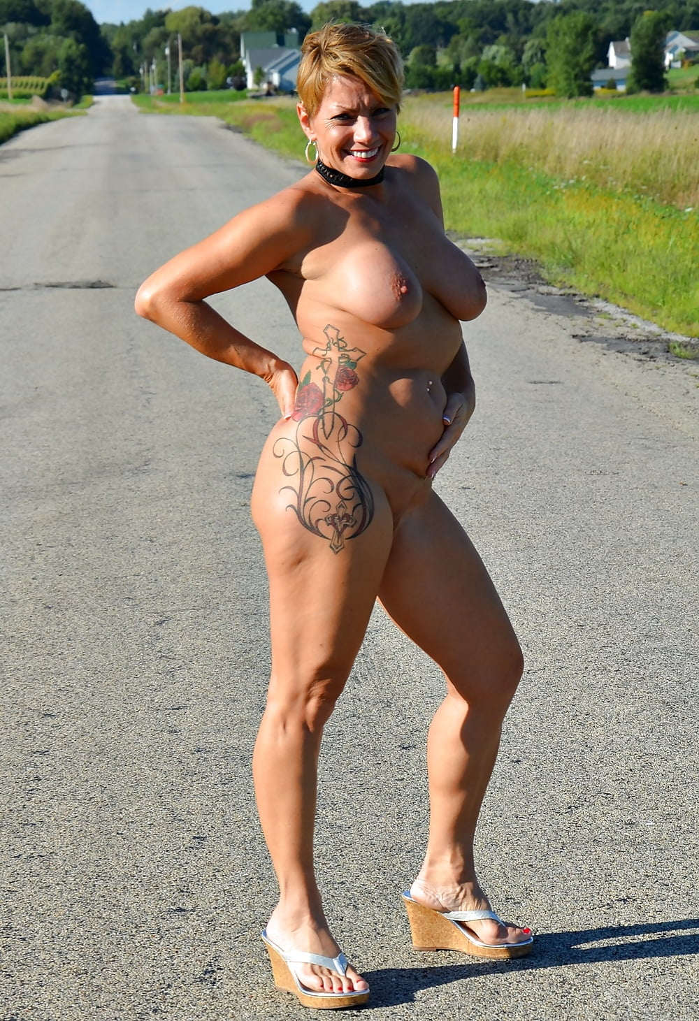 Milf sripped nude in public, gay redhead boy pictures