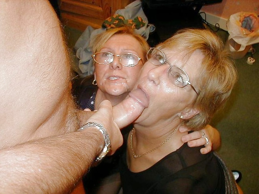 Boob granny mature bj eyeglasses