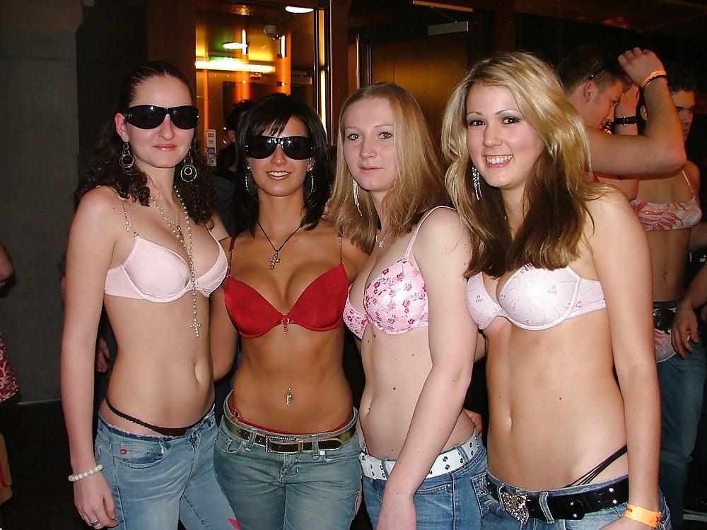 Sorority girls in panties
