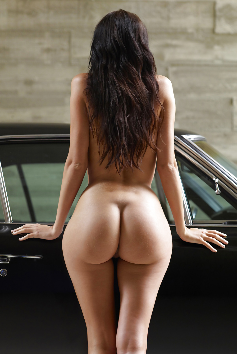 Butts conpletely naked, super hot sexy nude chick