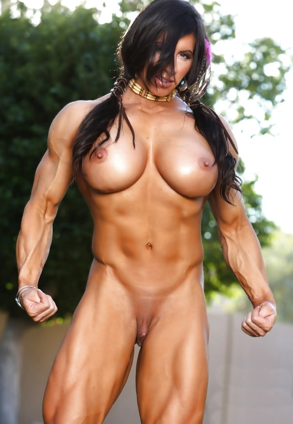 Women close up female muscle pussy