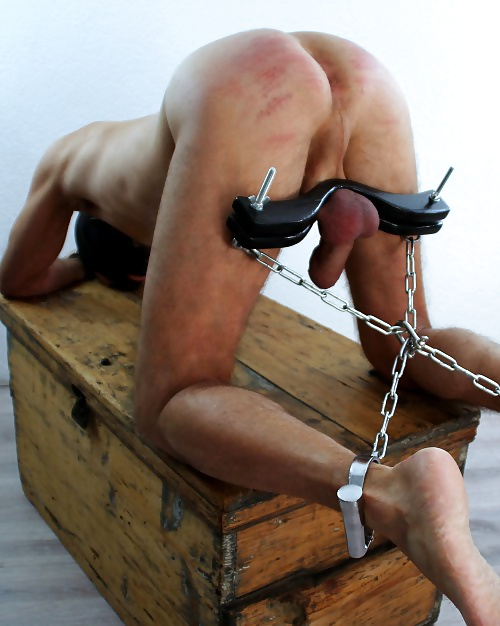 torture and Gay cock ball
