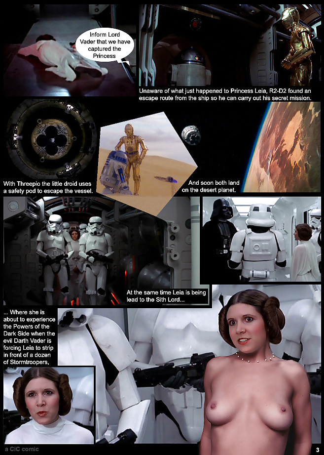 Star wars princess leia slave carrie fisher nude