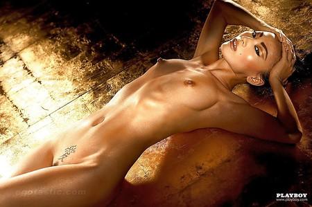 Attractive Bai Ling Nude Playboy Scenes