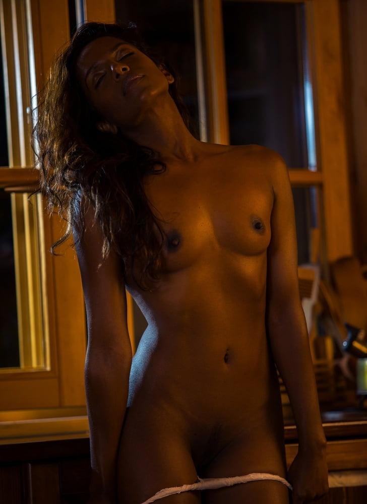 Slender ebony porn