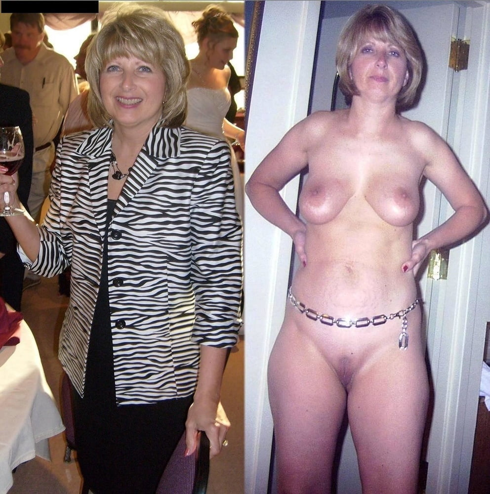 Exotic wife dressed and undressed
