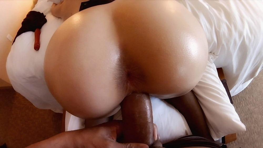 Brunette ass gets nailed