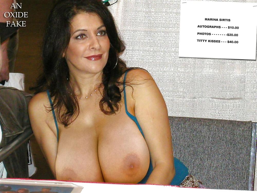 Marina sirtis breasts scene in blind date