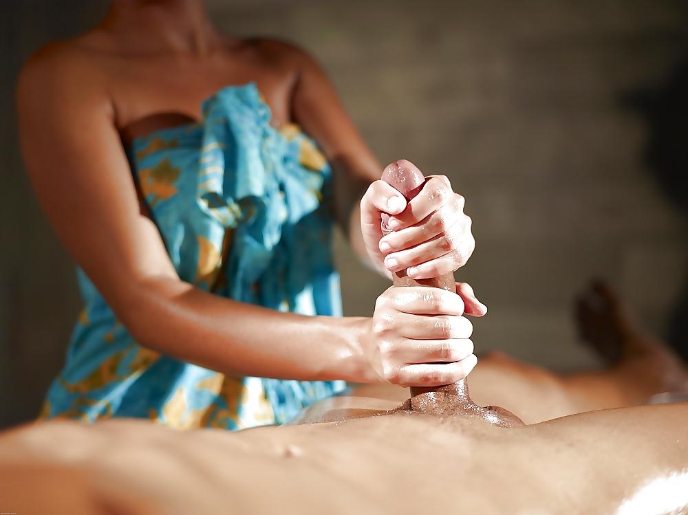 Домашнее эро массаж полового члена