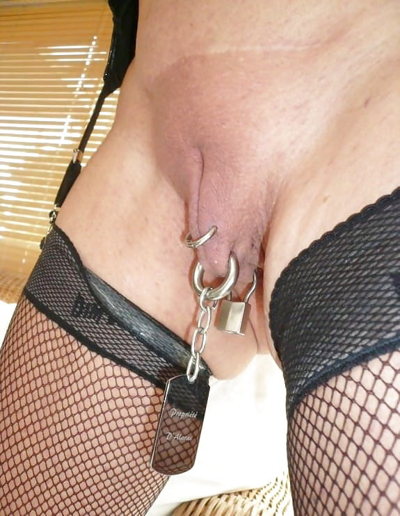 Pussy pierced chastity — pic 10