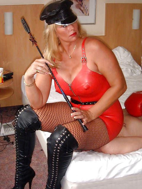 Lederlady Mistress Mistress Satin Blouses Dominatrix