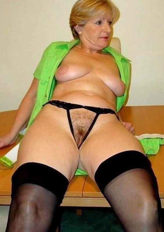 Granny dressed for sex