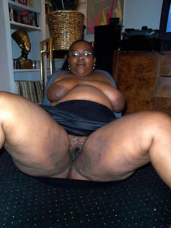 Fat Ass Black Granny