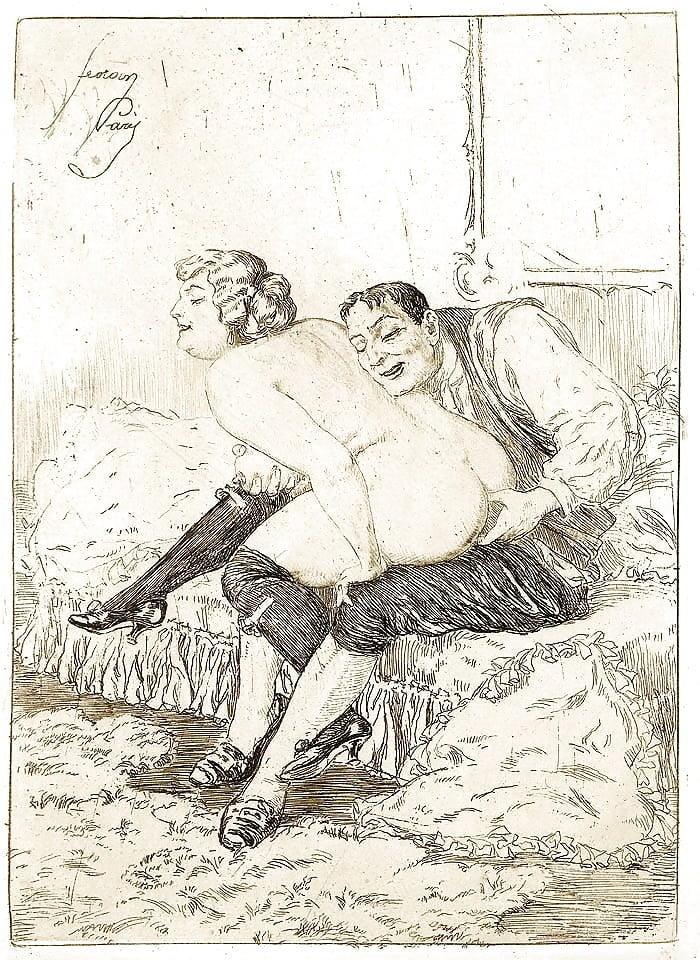 эротические открытки первой мировой - 12