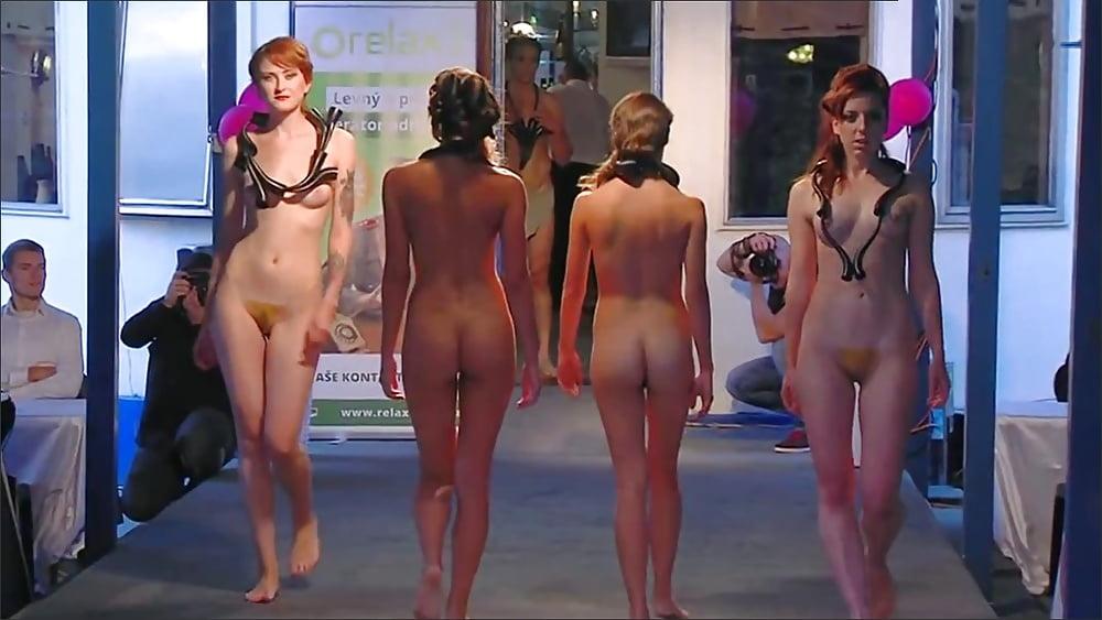 Naked girls in tv programme