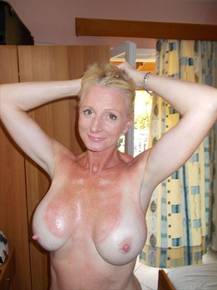 Mature nude tan lines-9536