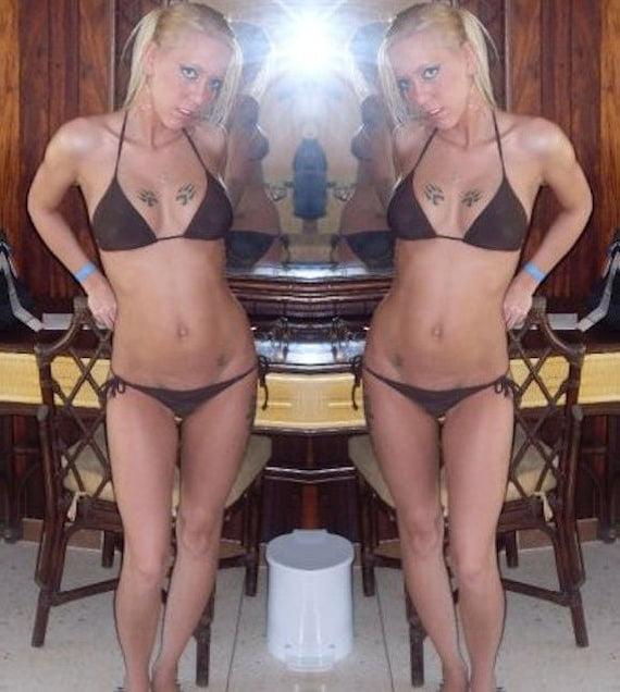Nikki Trailer & Tanga Trash Takes On Bikinis For Wankers - 44 Pics