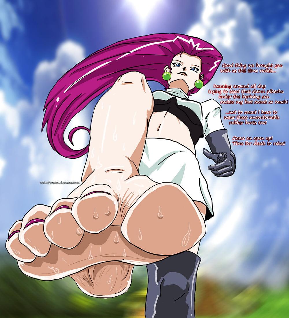 Pokemon foot worship