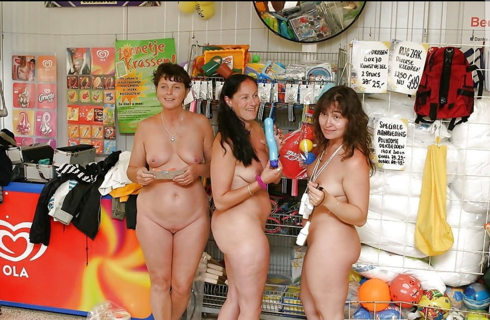 Nude in store