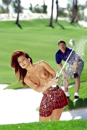 Bikini Nude Babes Golfing Pics