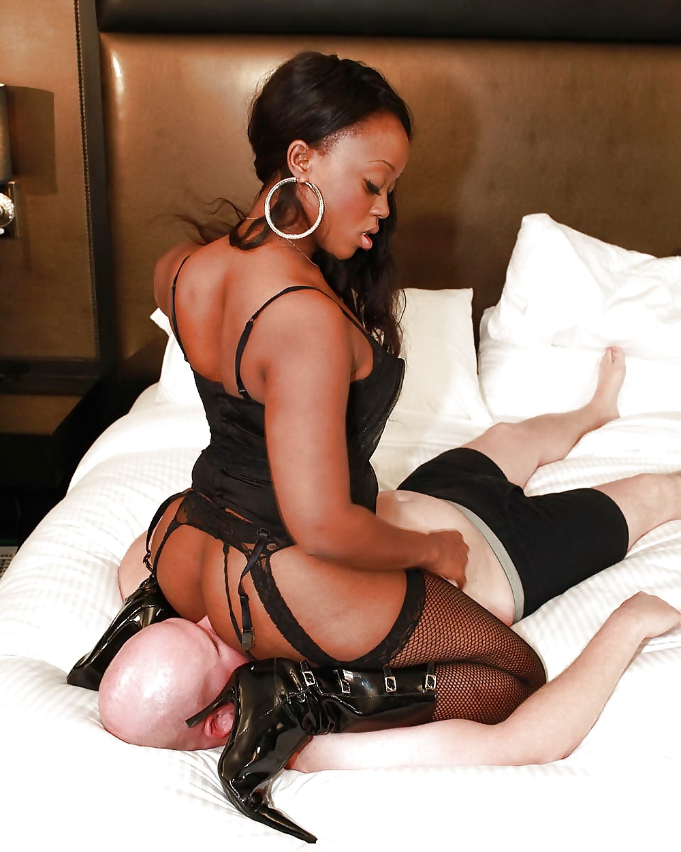 Ebony Femdom Black Mistress