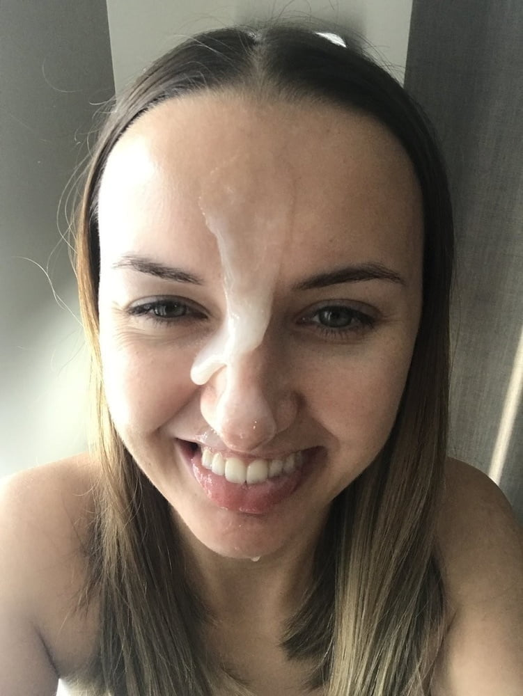 Cum shot selfie