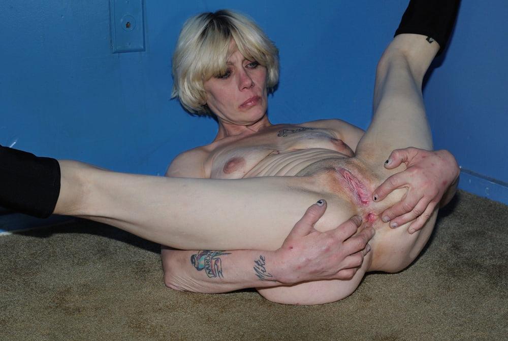 Gorgeous Teen Blonde Street Hooker Prostitute