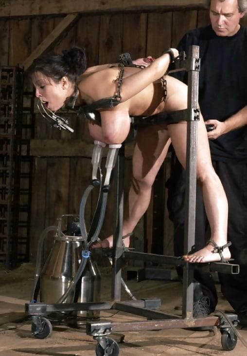 Extreme hucow milking torture xtreme nipple photo