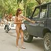 nude teen girl tramping