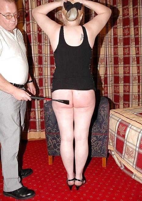 Amateur wife index spank