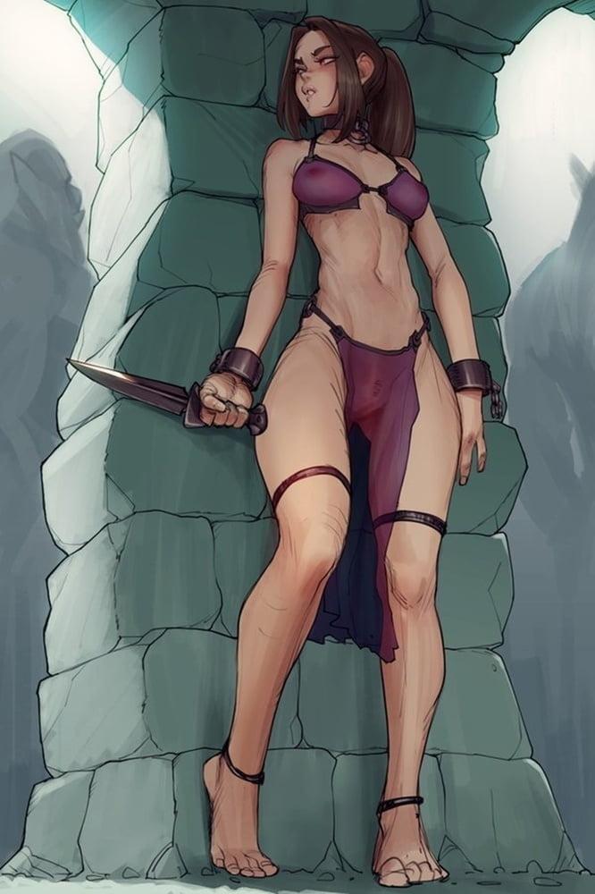 Fantasy Warrior Woman 61