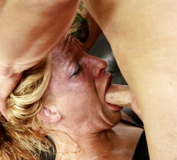 Deep throat granny tubetures full