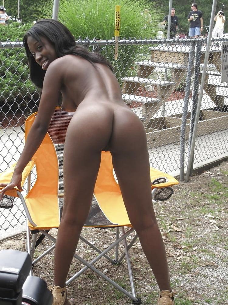 Black Girl Pink Panties
