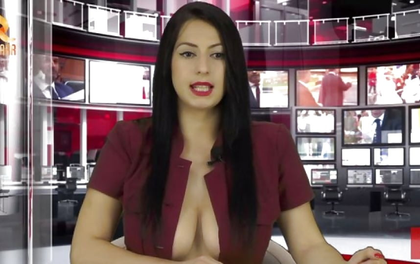 Viewers In Shock As Boobs Are Flashed On Bbc's News