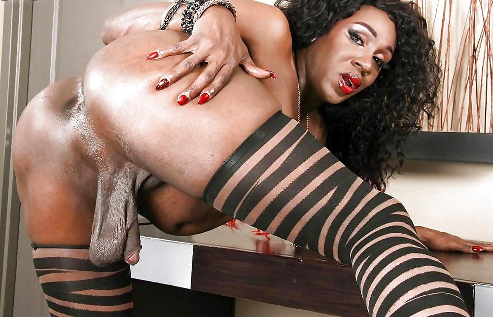 Black booty tranny porn 6