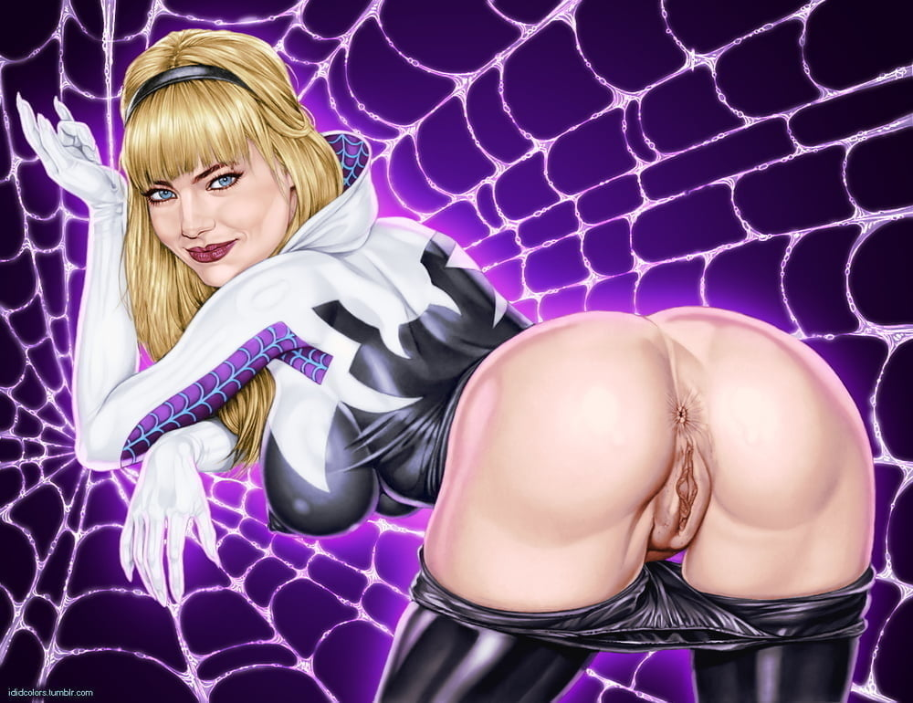 Awf Spider Gwen Nude Ass Grab