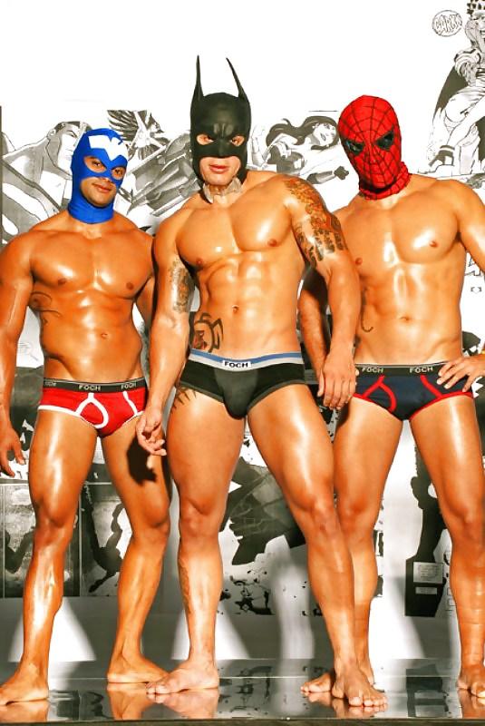 Superhero guys naked #12