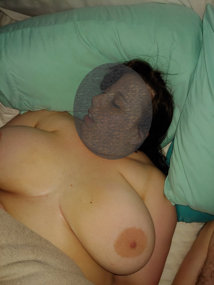 My wife naked in bed