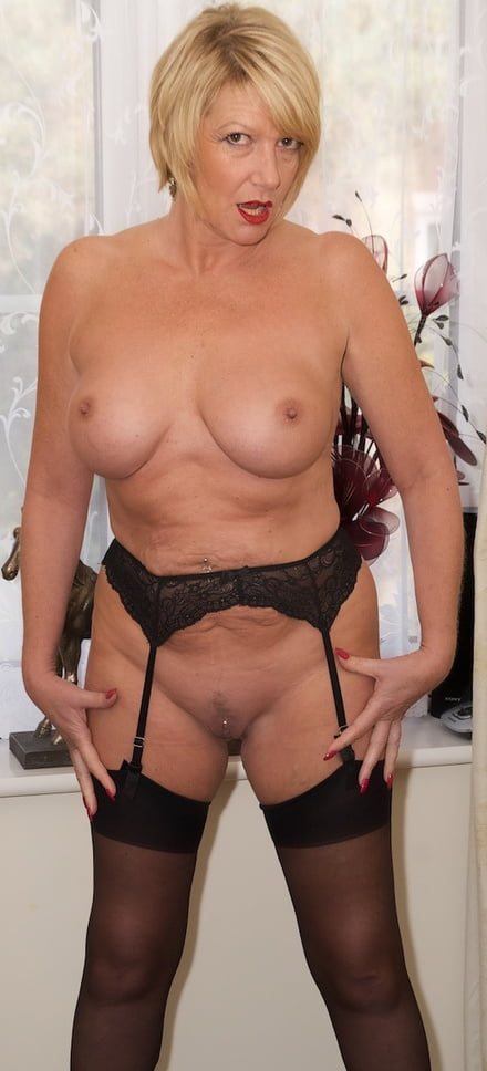 Mature women spread