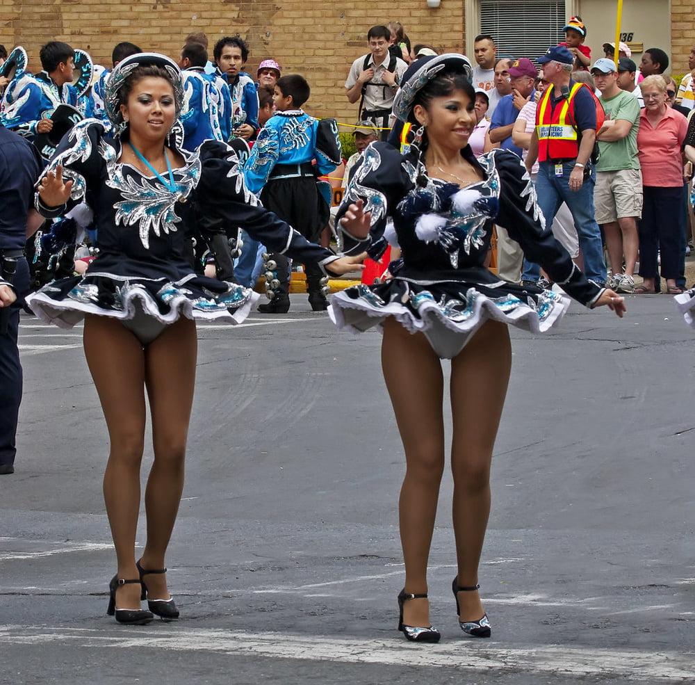 Voyeur photos of upskirt parade