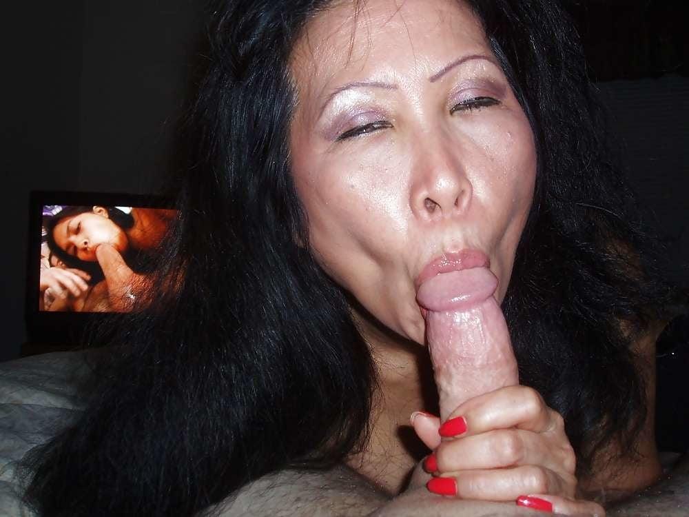 порно зрелые азиатки сосут - 4