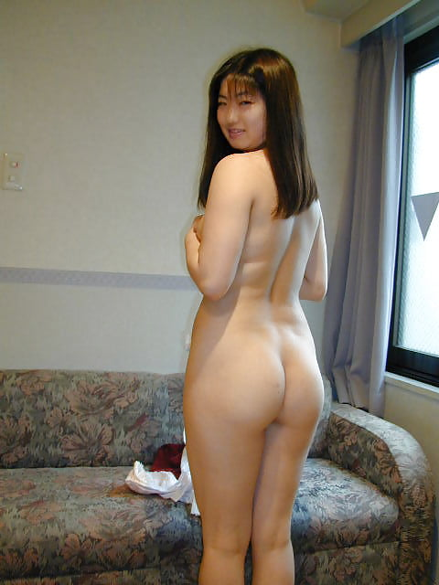 Japanese girl uses toy-1275
