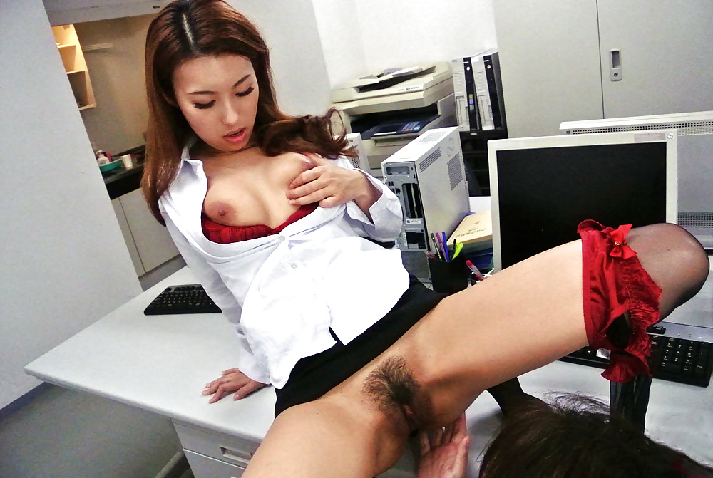 Asian secretary fucked
